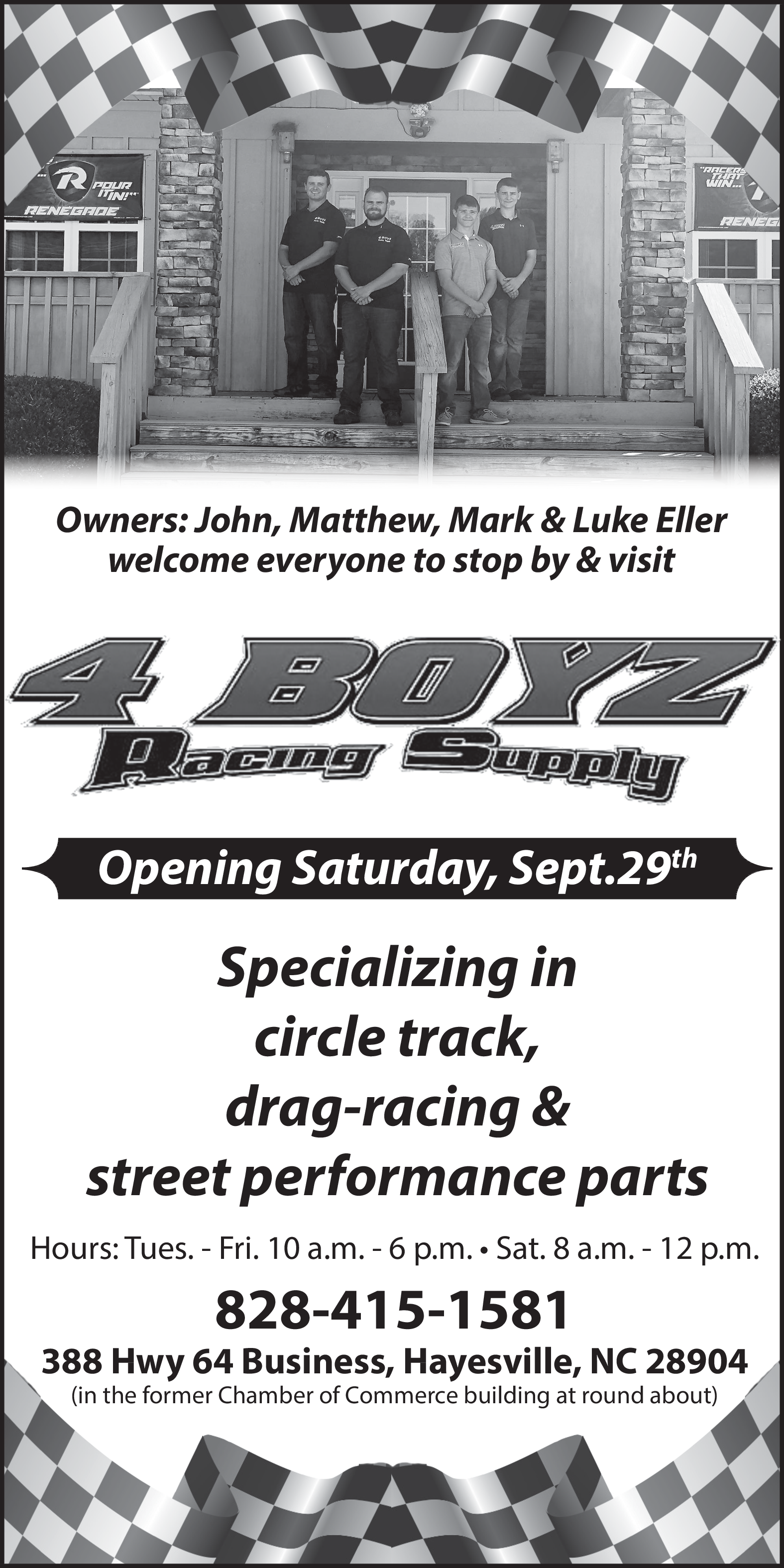 Circle Track Supply >> Specialist In Drag Racing Street Performance In Hayesville Nc